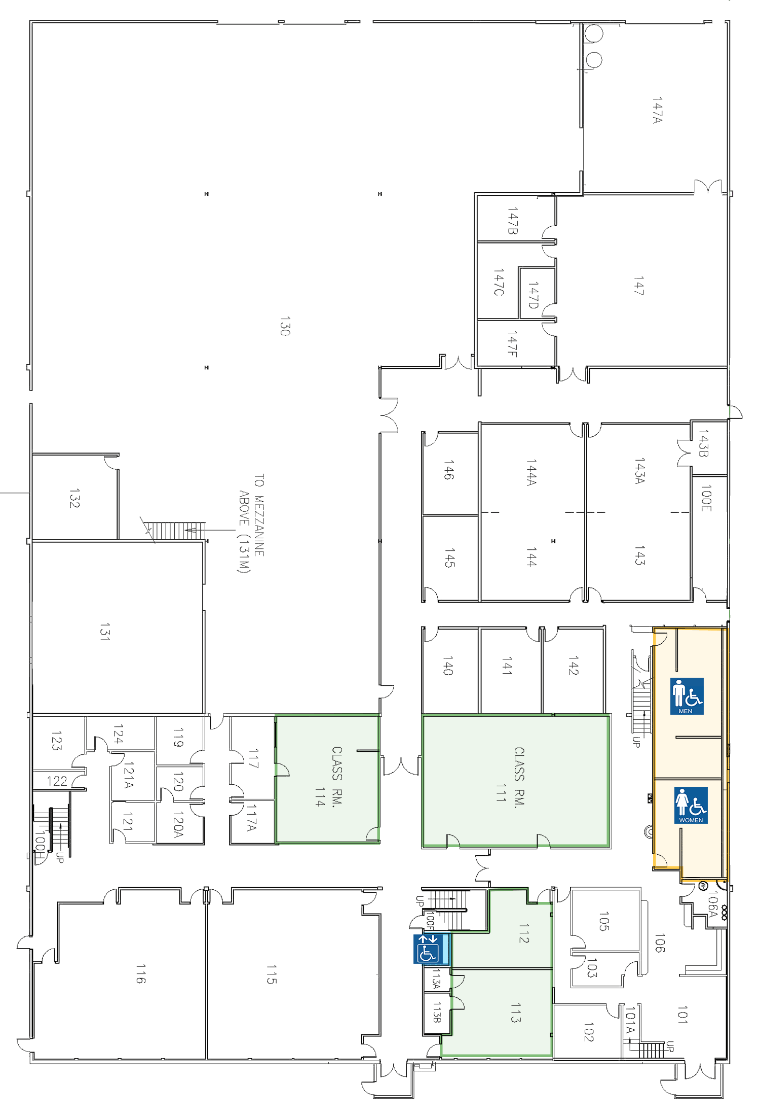 Emergency Services Building Level 1