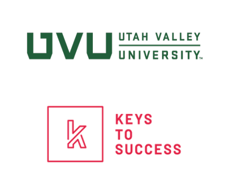 UVU and Keys to Success Logo