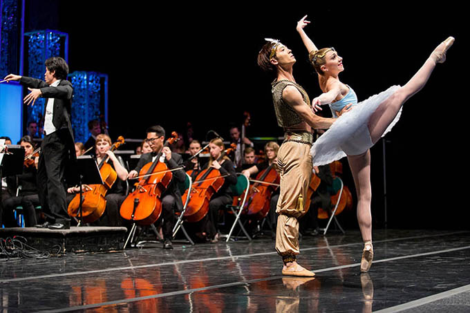 Utah Regional Ballet and UVU Symphony perform at the 25th Annual Scholarship Ball
