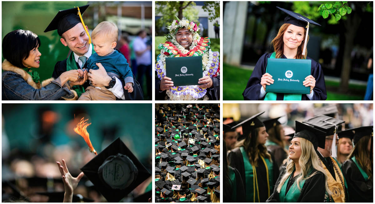 uvu graduation shots