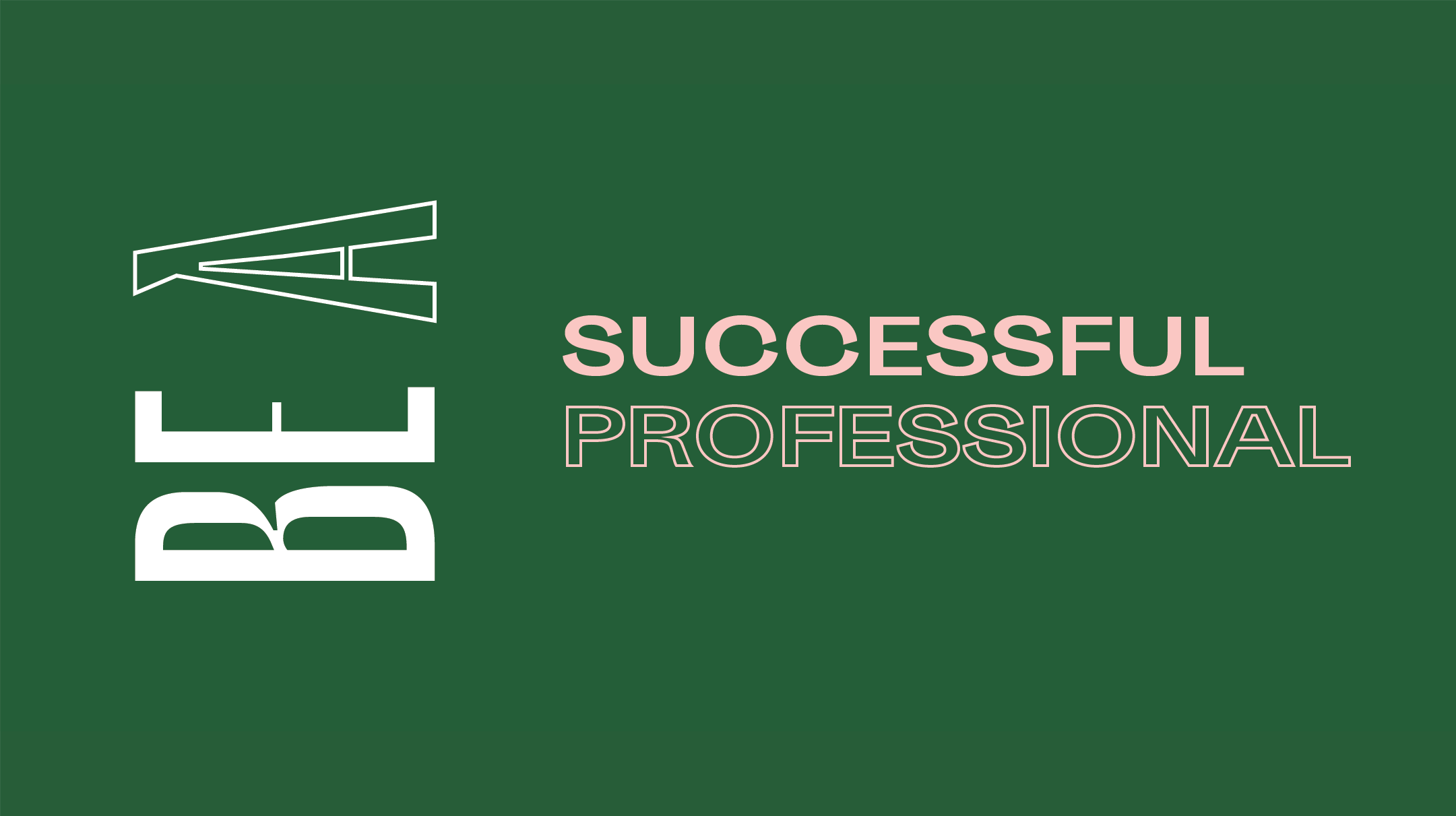 Be A Successful Professional