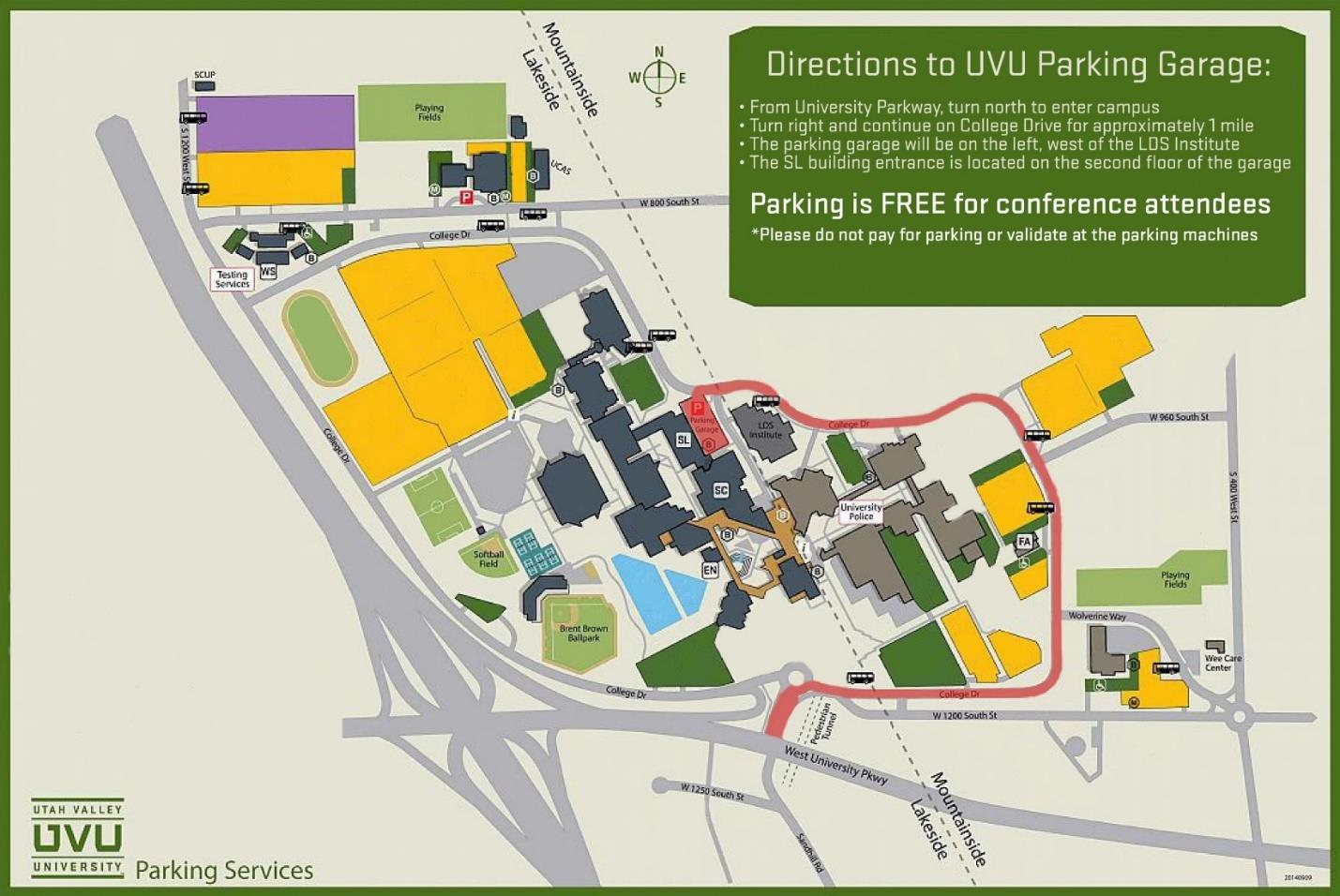 Uvu Parking Map Travel | Conferences | The Melisa Nellesen Center For Autism