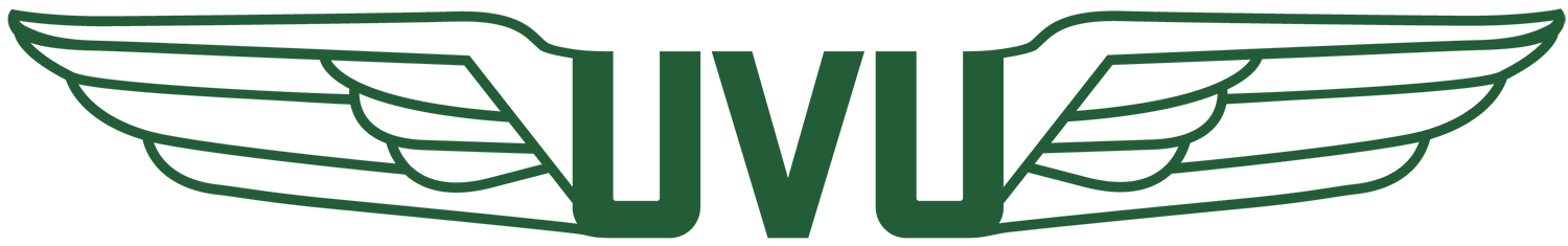 UVU Aviation wings