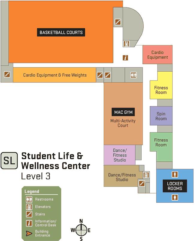 SLWC third floor map