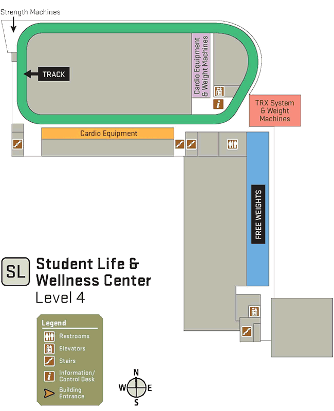 About the Student Life and Wellness Center | Student Life