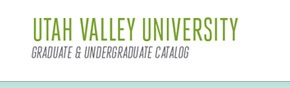 Utah Valley University Graduate & Undergraduate Catalog