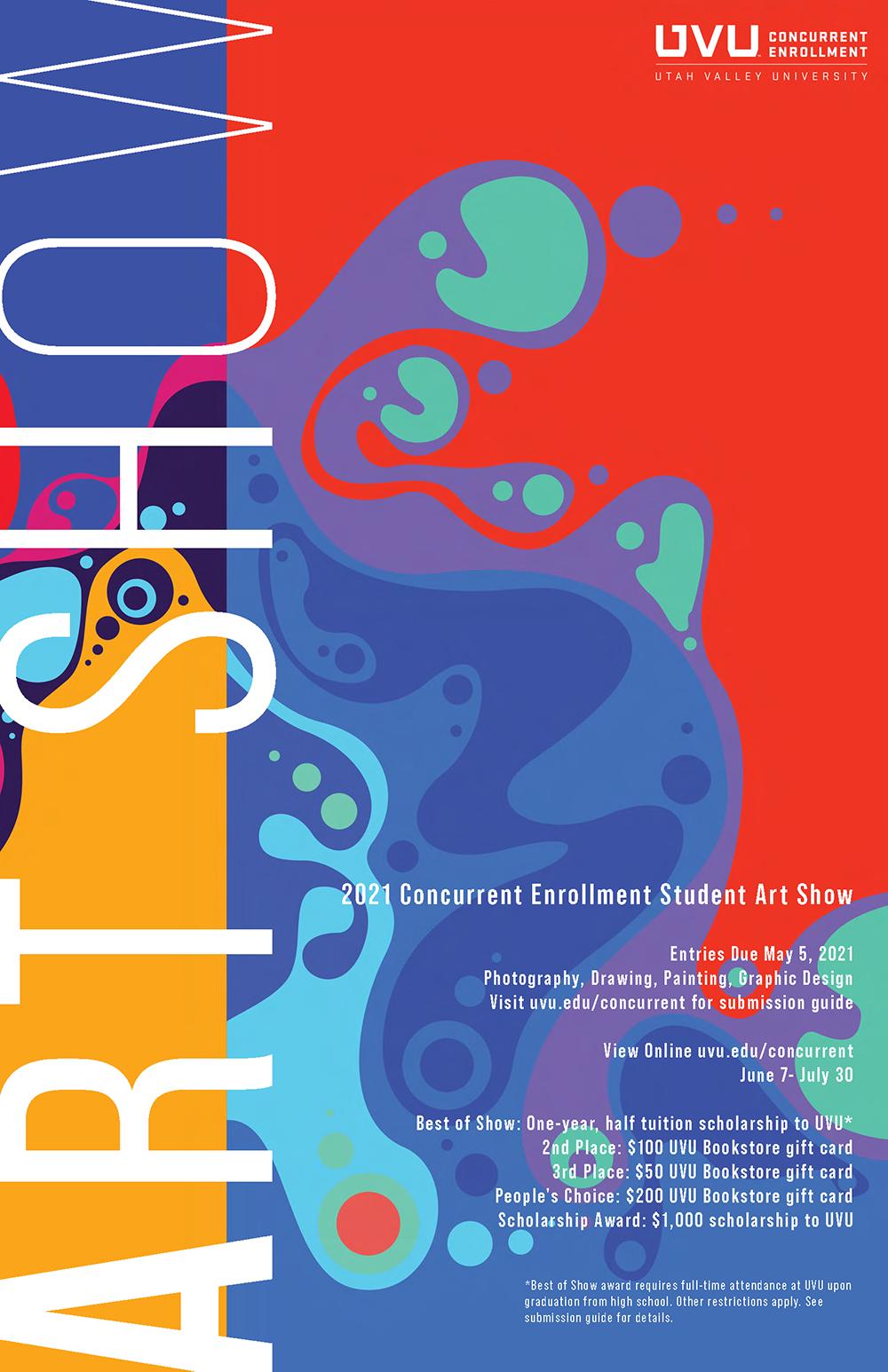 2021 Art Show Poster