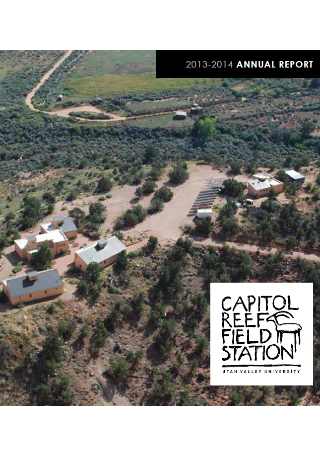 Arial photo of CRFS Facility (2013-2014 Cover Photo)
