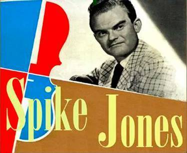 Spike Jones Album Cover with the artist