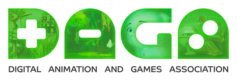 digital animation and games association logo