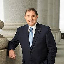 Portrait of Gary Herbert