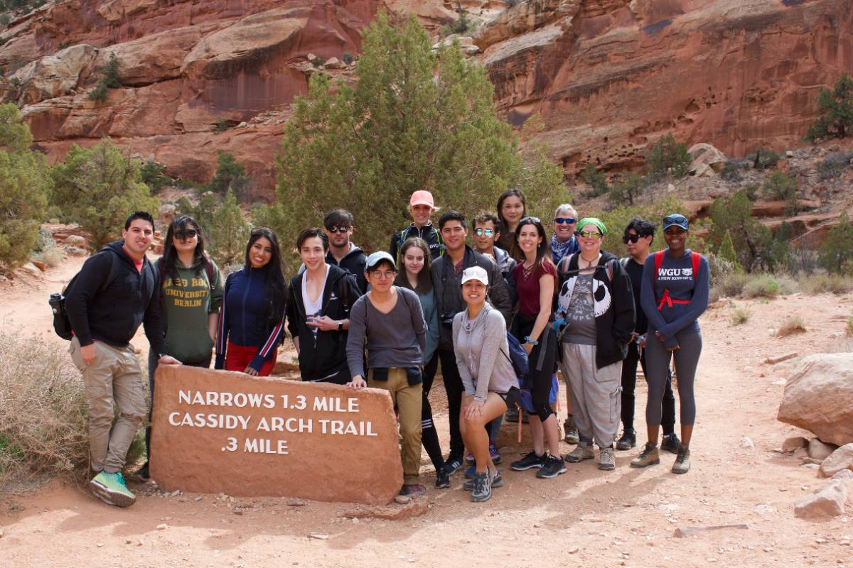 ELL Group in capitol reef