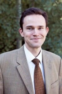 This is a picture of Luke Peterson a member of the faculty advisory board for Utah Valley University's Center for the Study of Ethics.