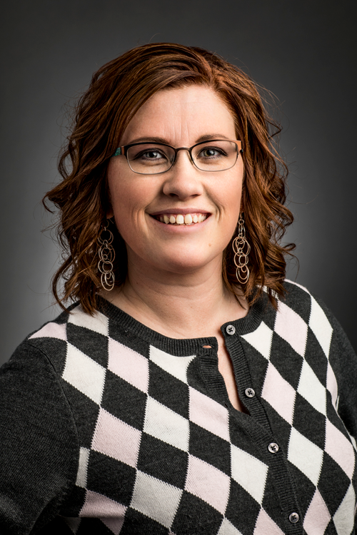 This is a picture of Jessica Awtry a member of the faculty advisory board for Utah Valley University's Center for the Study of Ethics.