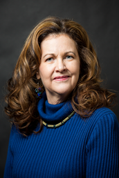 This is a picture of Elaine Englehardt, the distinguished professor of ethics and philosophy in Utah Valley University's Center for the Study of Ethics.
