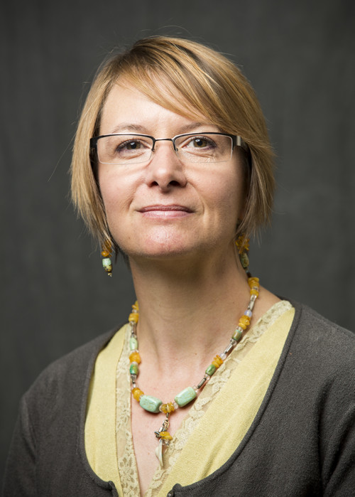 This is a picture of Kate McPherson, a member of the faculty advisory board for Utah Valley University's Center for the Study of Ethics.