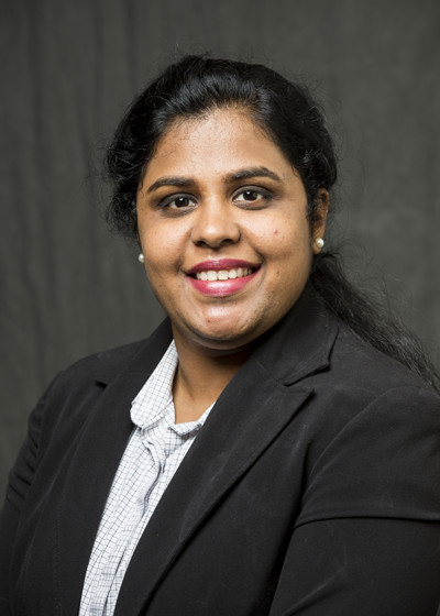 This is a picture of Sowmya Selvarajan a member of the faculty advisory board for Utah Valley University's Center for the Study of Ethics.