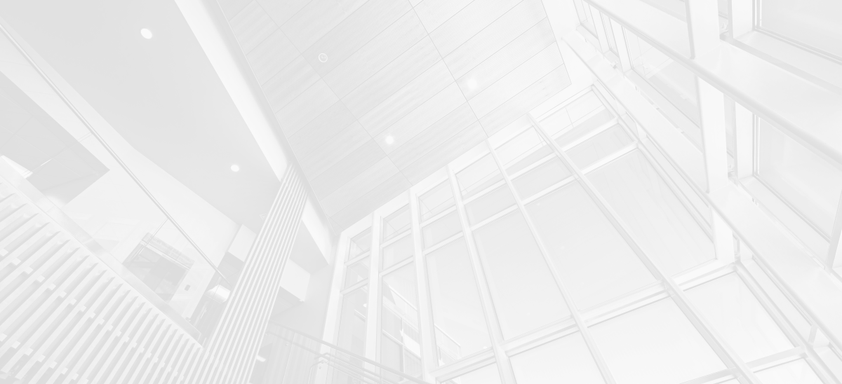 Inside virtical shot of building architecture.