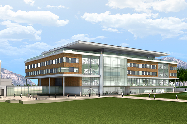 Rendering of new CET building