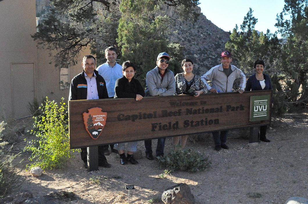 Visit to Capitol Reef National Park, UVU Field Station