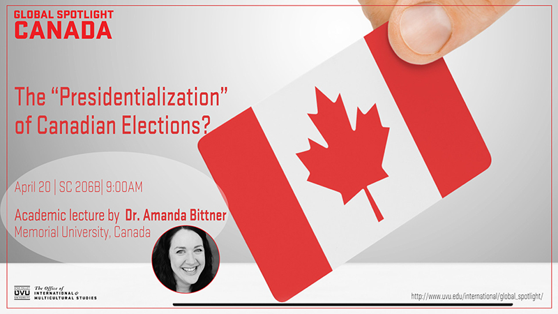 "The ""Presidentialization""  of Canadian Elections?"