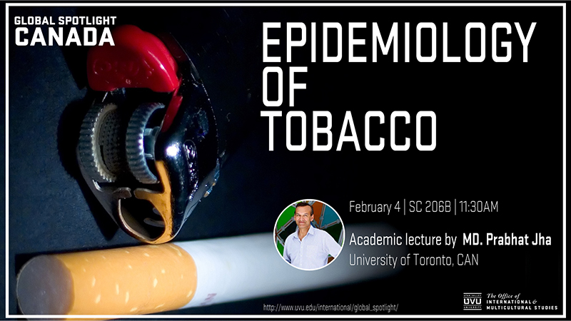 epidemiology of tobacco