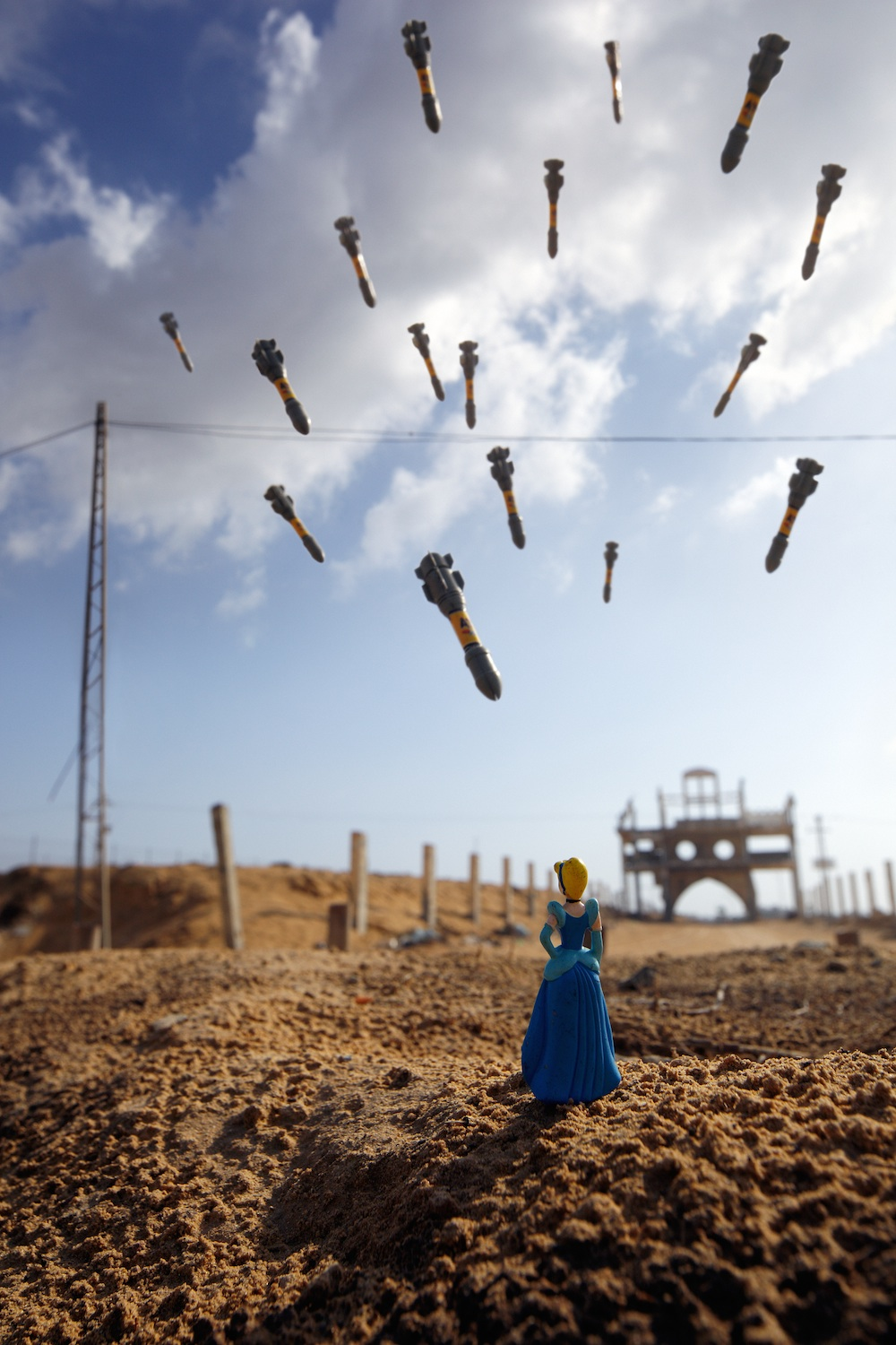 Brian McCarty, Gaza Cinderella, 2012, archival print, 51 x 34 inches, courtesy the artist. © Brian McCarty.