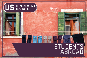 US State Department - Students Abroad. Image of Clothes on a Clothes line