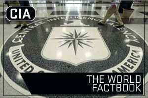 CIA - The World Fact Book. Image of the CIA Seal at CIA Headquarters