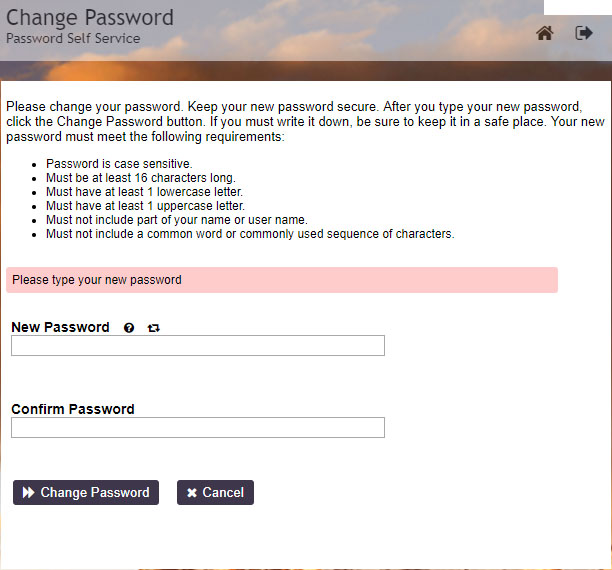 Screenshot of the UVU Password Manager Tool