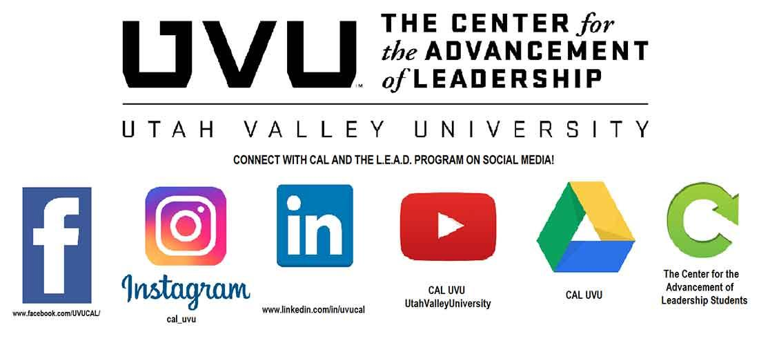 The Center for the Advancement of Leadership social media.
