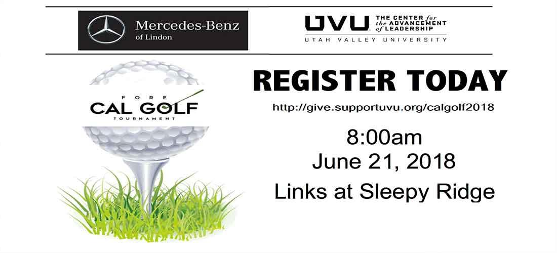 Fore CAL Golf Tournament - 8am on June 21, 2018.  Links at Sleepy Ridge.