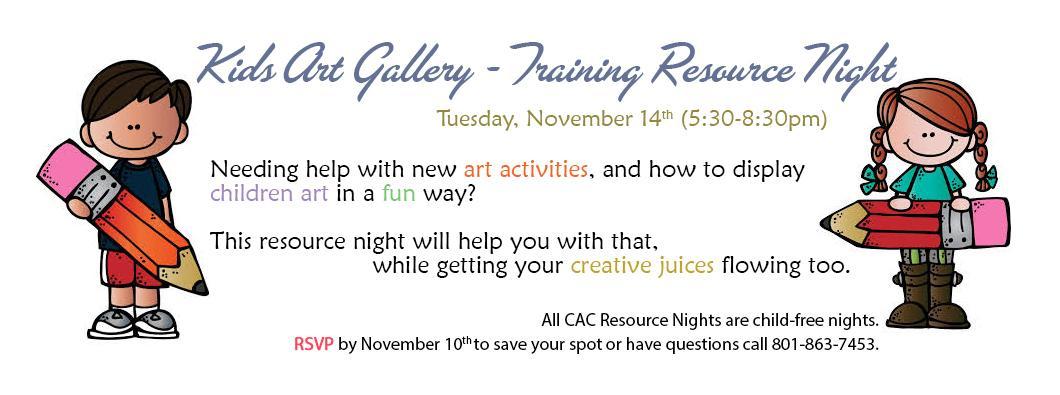 Training Resource Night