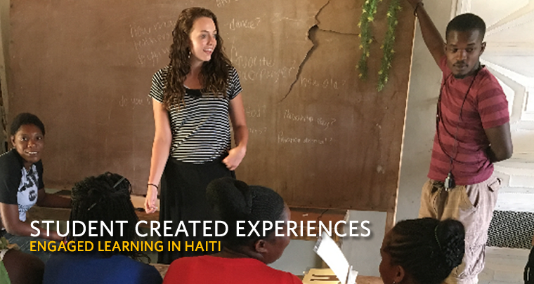Student Created Experiences