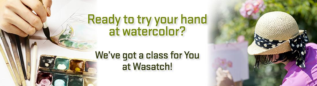 wasatch watercolor classes