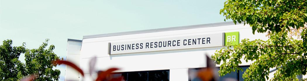 business resource center building exterior