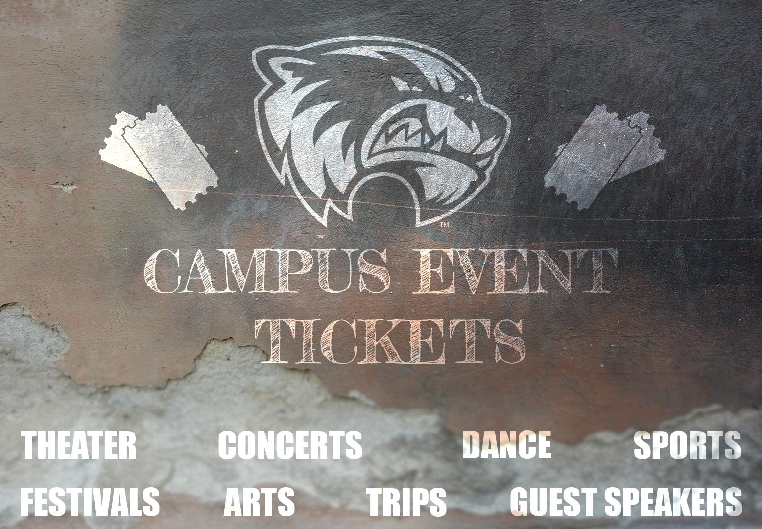 campus events tickets