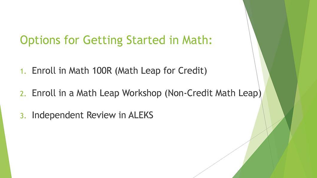 Math QL Requirement slide 23