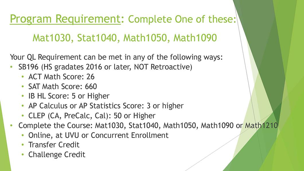 Math QL Requirement slide 04