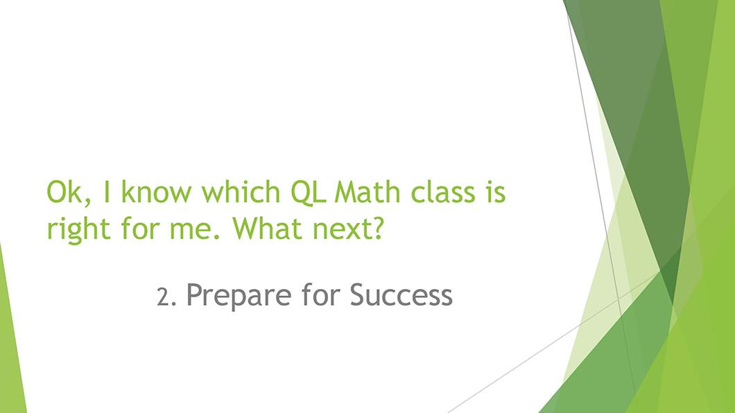 Math QL Requirement slide 09