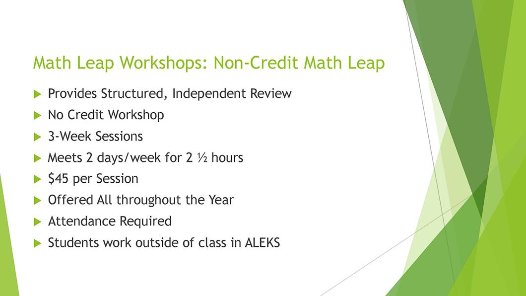 Math QL Requirement slide 17