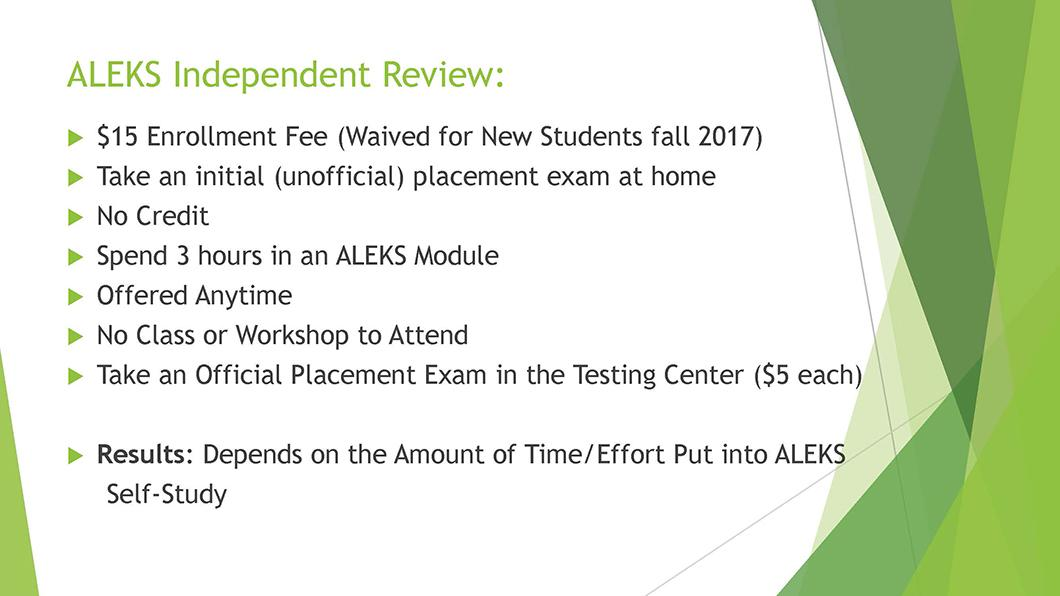 Math QL Requirement slide 22