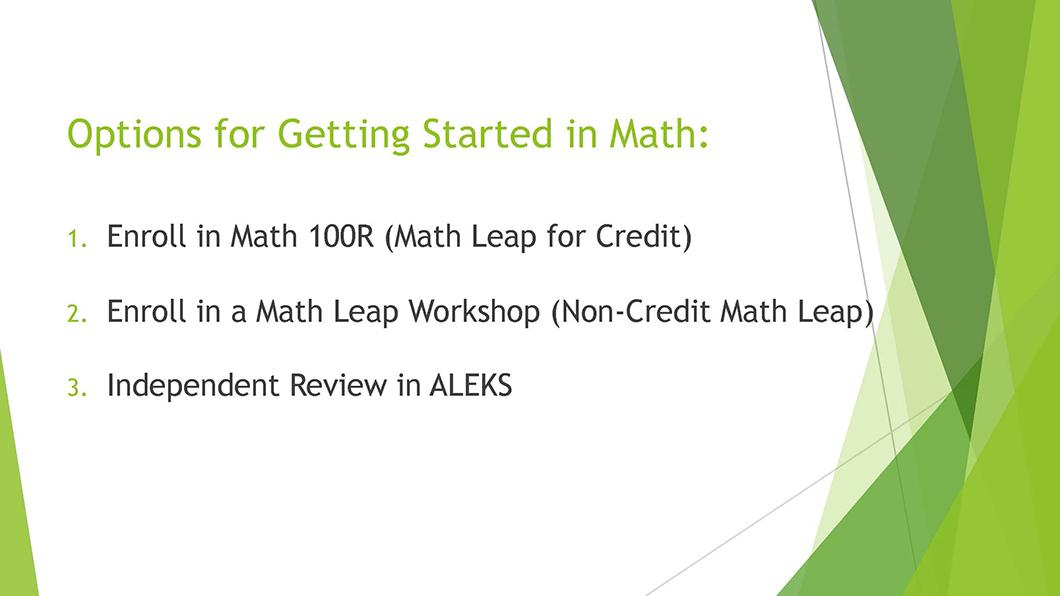 Math QL Requirement slide 10