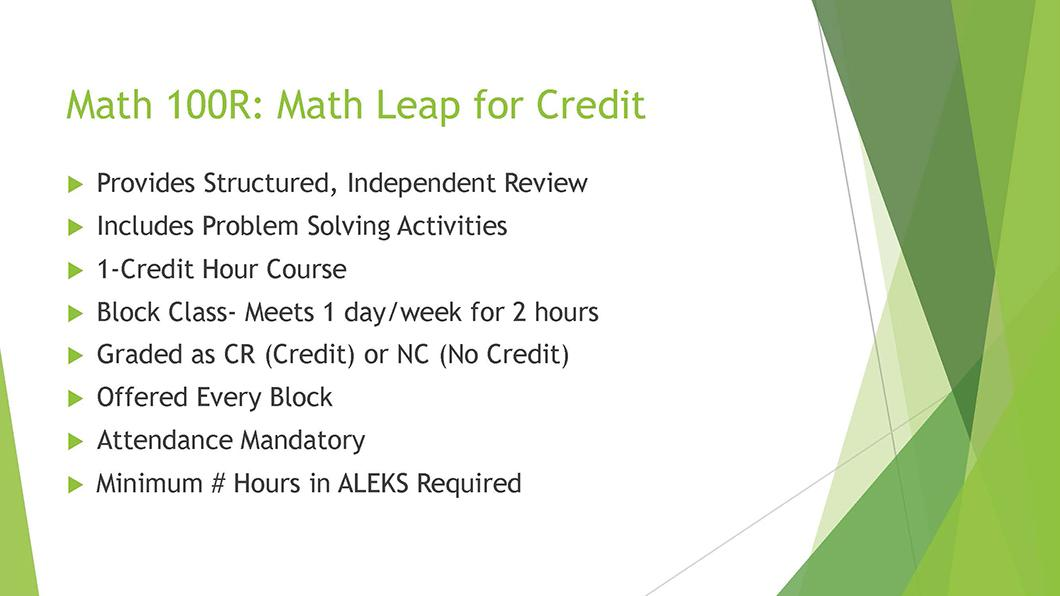Math QL Requirement slide 12