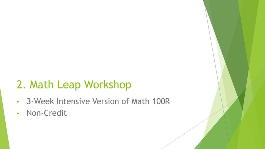 Math QL Requirement slide 16