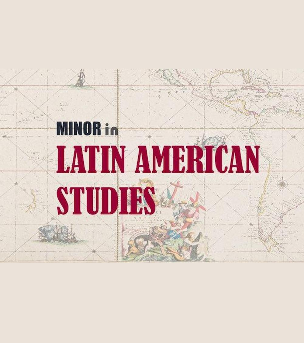 A title slide for Latin American Studies