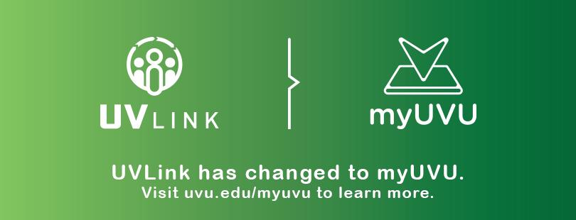 UV Link to myUVU