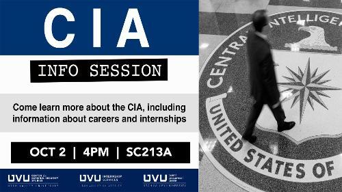 CIA Info Session