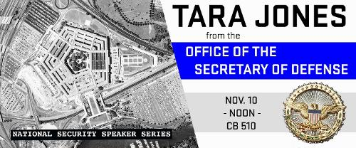 Office of the Secretary of Defense, Tara Jones