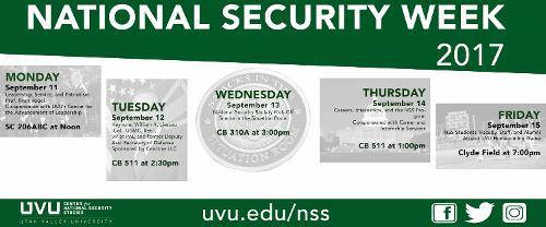 National Security Week